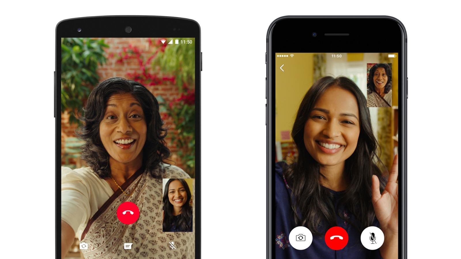 Aplicación WhatsApp Para Hacer Videollamada