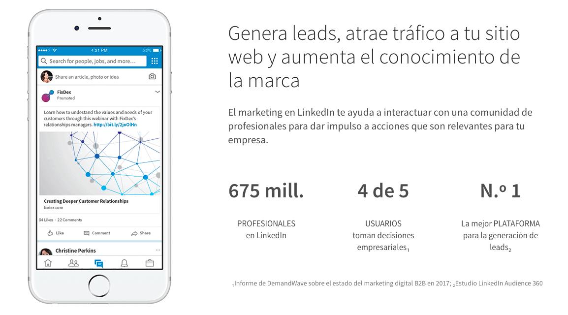 El Marketing En LinkedIn