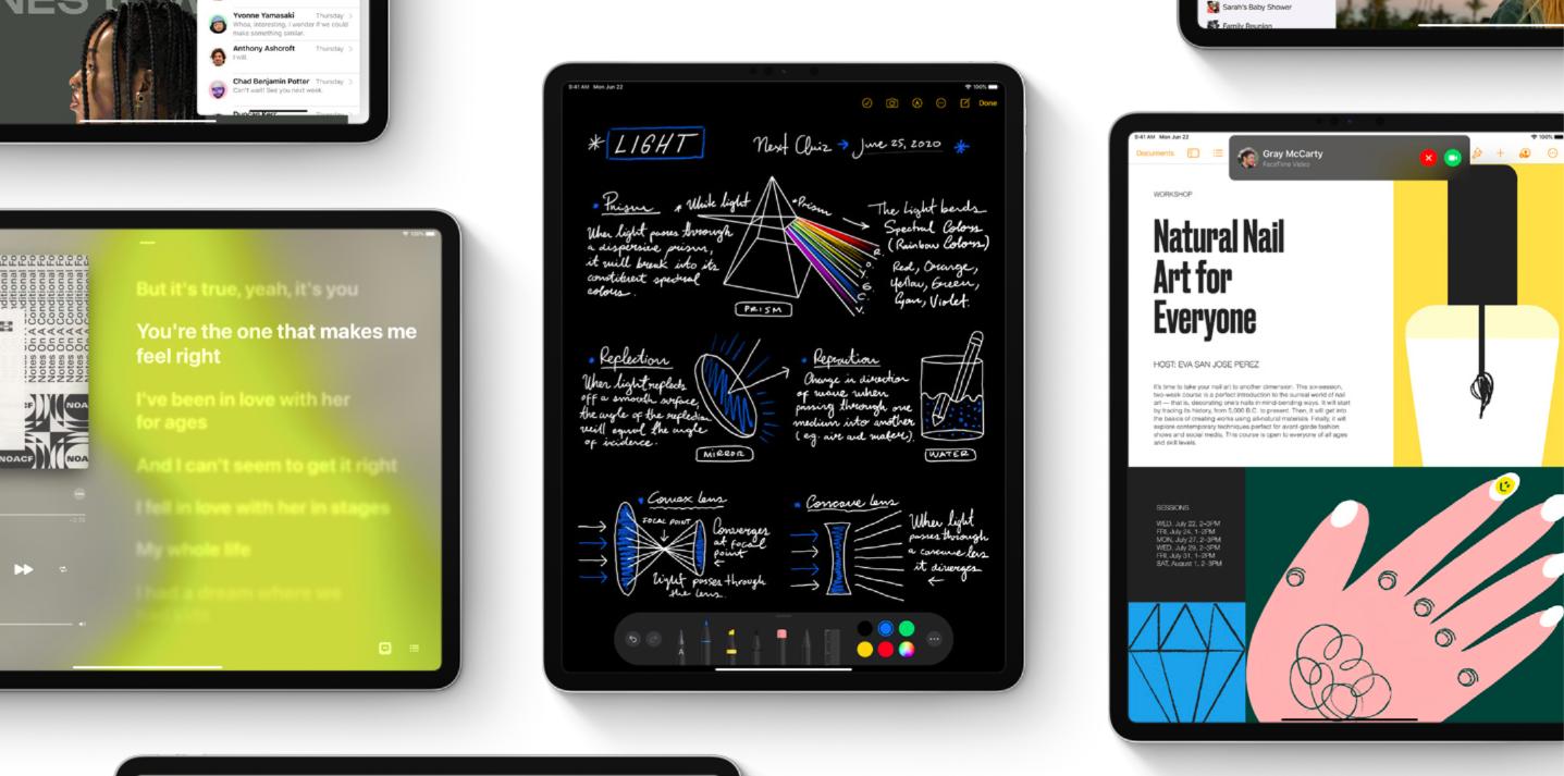 Nuevas Características De iPad Marca Apple