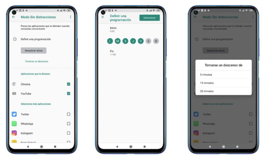 Modo Sin Distracciones De Android