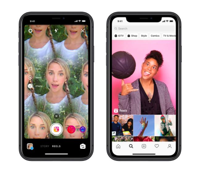 Interfaces De Instagram Reels