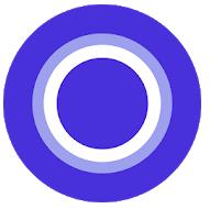 Icono De Asistentes Virtuales Cortana Para Móvil