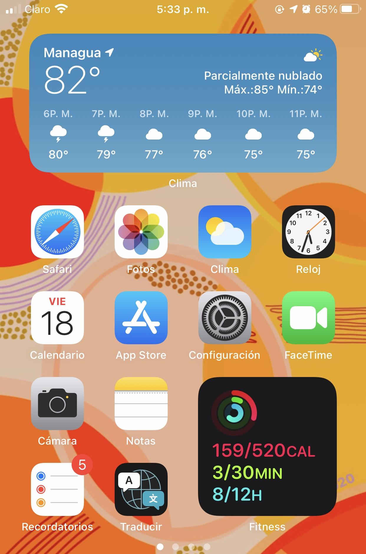 Widgets En iOS14