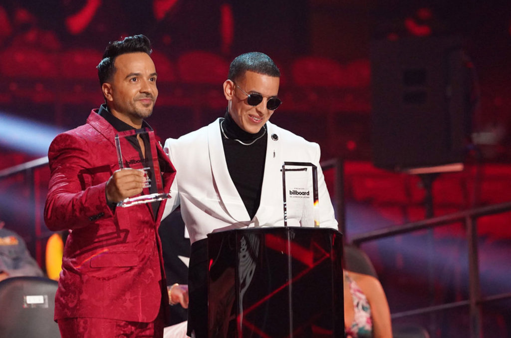 Daddy Yankee En Los Premios Billboard