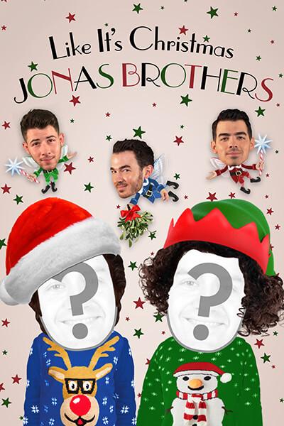 Imagen De Tarjeta Navideña Jonas Brothers