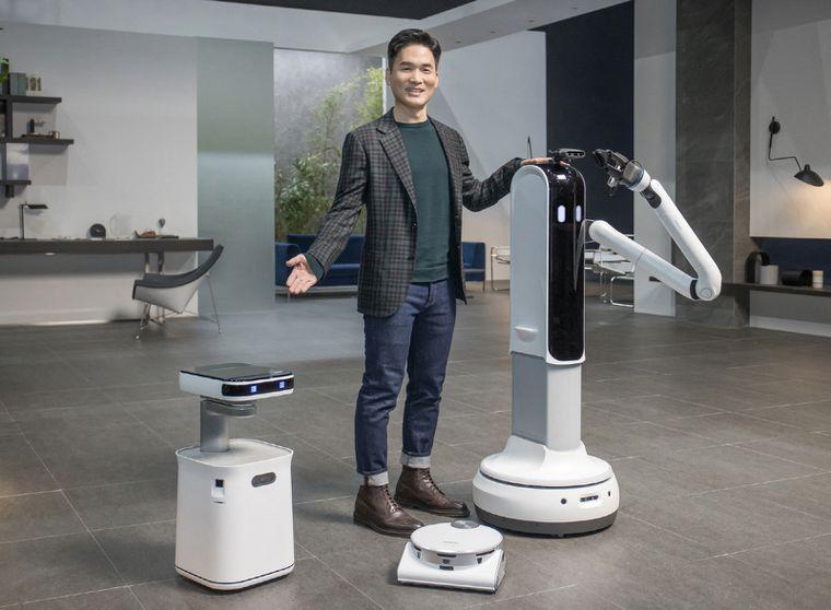 Imagen de Tres Robots