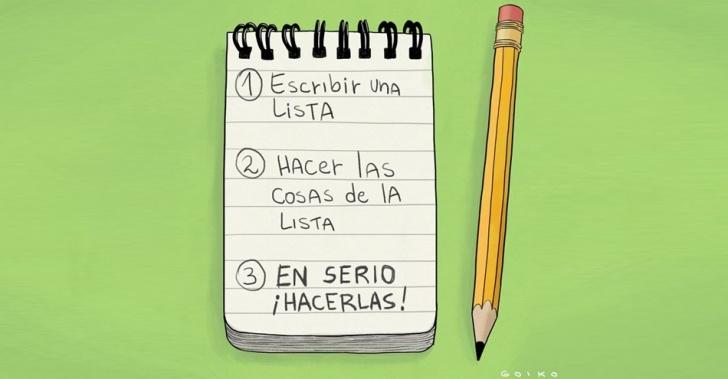 Imagen De Apuntes De Lista Por Hacer