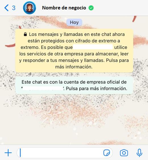 Imagen de Cifrado de Mensajes De Chats En WhatsApp