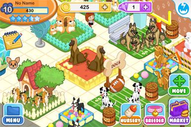 Imagen De Interfaz De Nintendogs