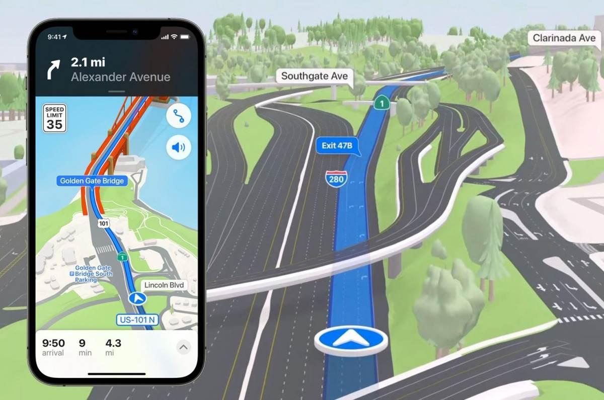 Tecncología Apple En Maps