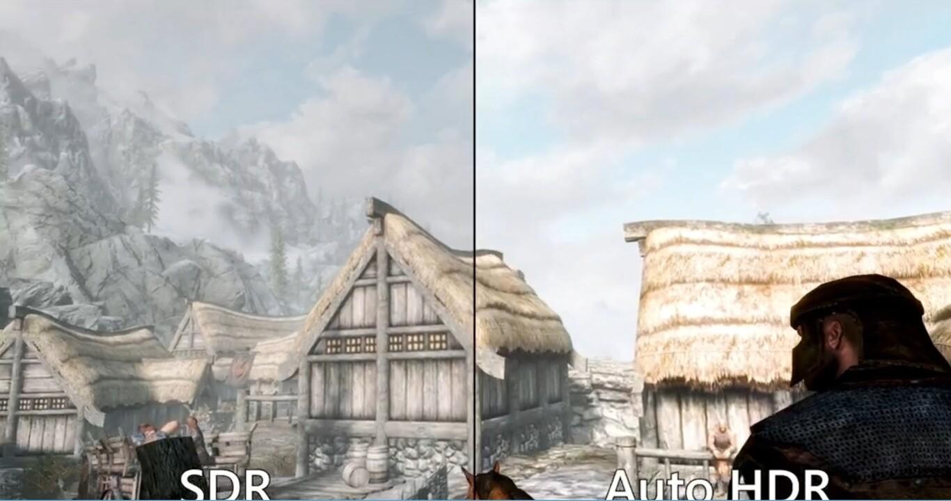 Juegos SDR Y Auto HDR En Actualización De Windows 11