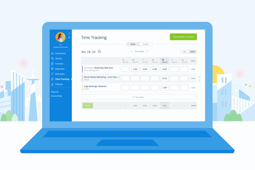 Presentación de Extensiones de Google Freshbooks