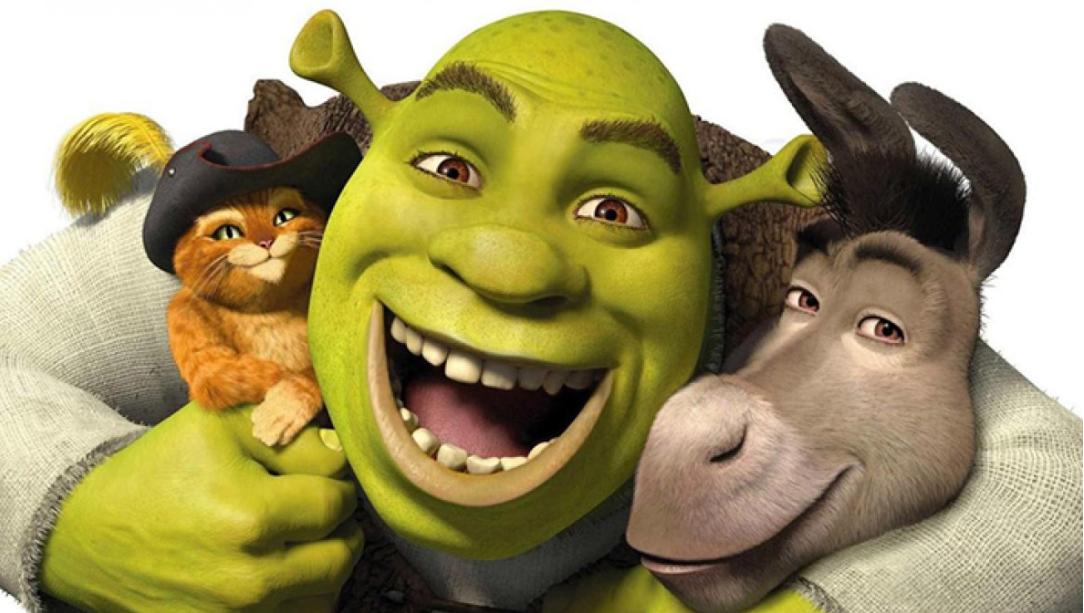 Portada De Película Shrek