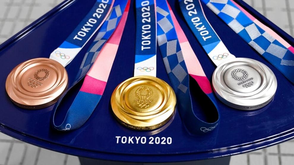 Medallas De Oro, Plata y Bronce De Los Juegos Olímpicos