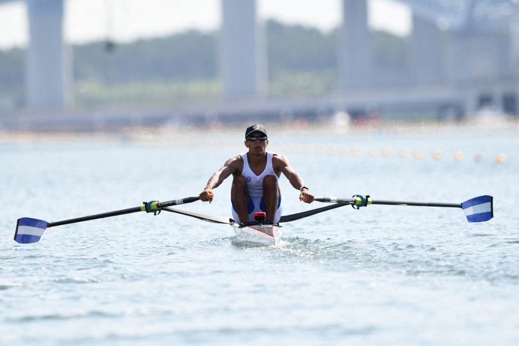 Félix Damián Potoy En Los Juegos Olímpicos Tokio 2020