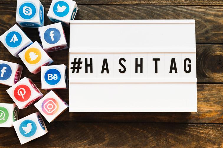 Influencer Utilizando Hashtag