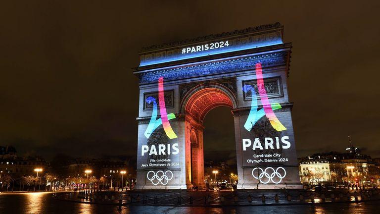 Presentación De Los Juegos Olímpicos Paris 2024