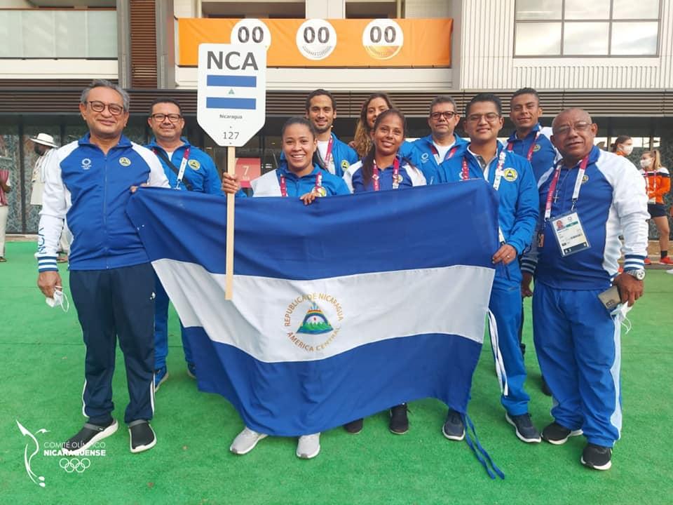 Equipo De Nicaragua En Los Juegos Olímpicos Tokio 2020