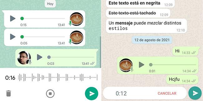 Aspecto De La Nueva Actualización De WhatsApp