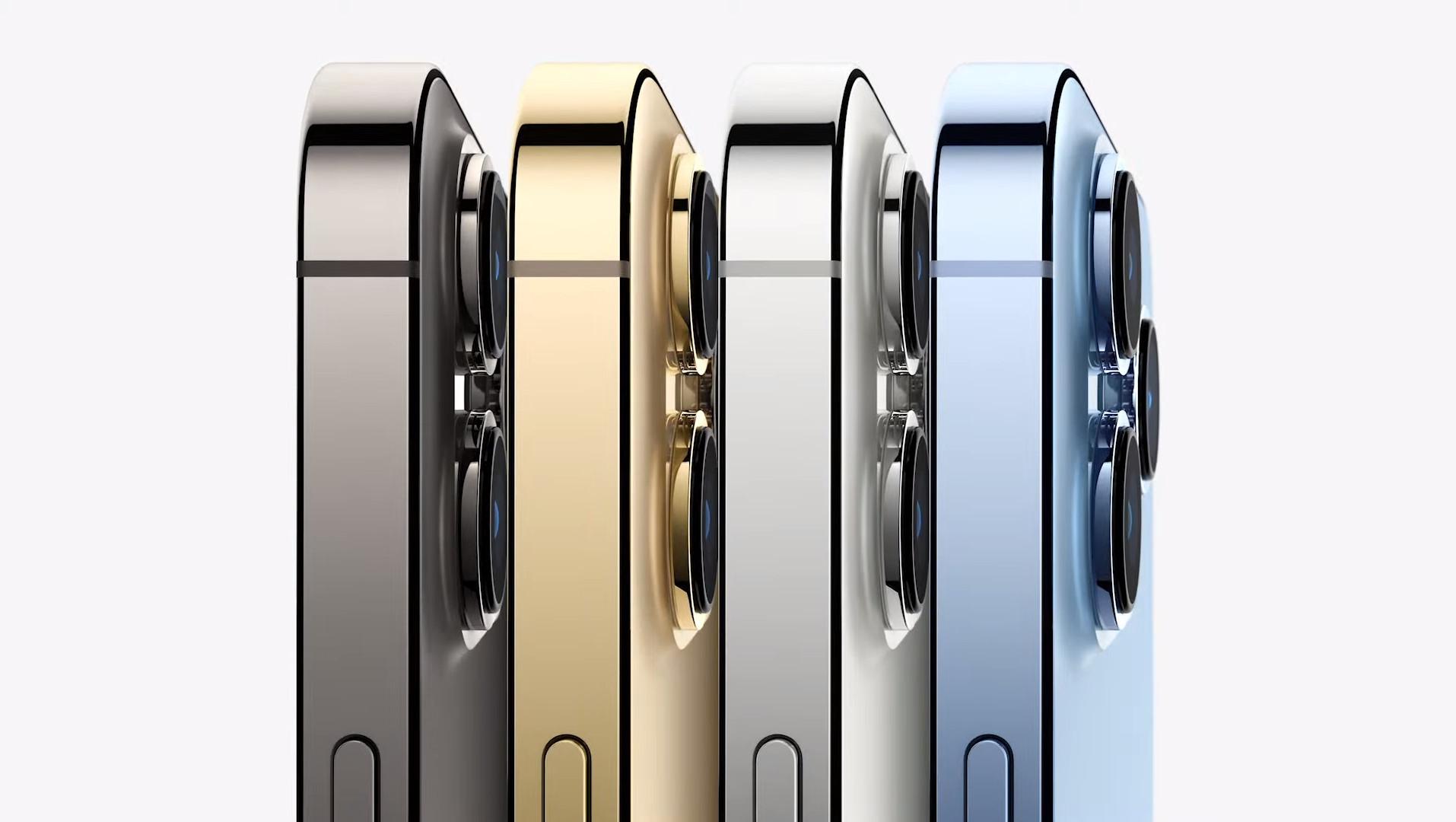 Variante De Colores Del Nuevo Iphone 13