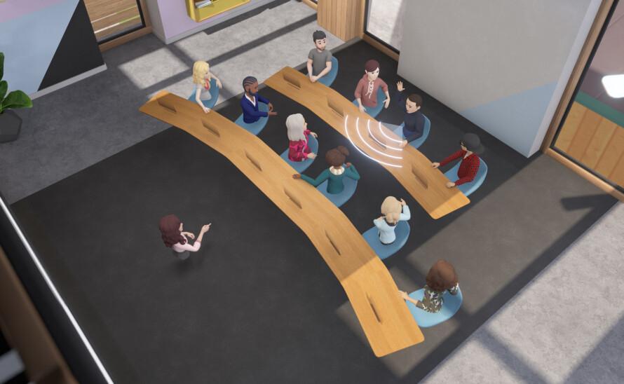 El Uso Del Metaverso En El Día A Día En Una Reunión