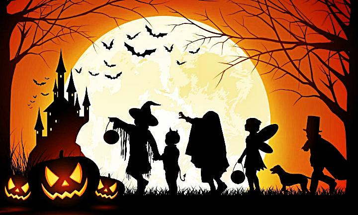Imágen De Niños Disfrazados Para Halloween